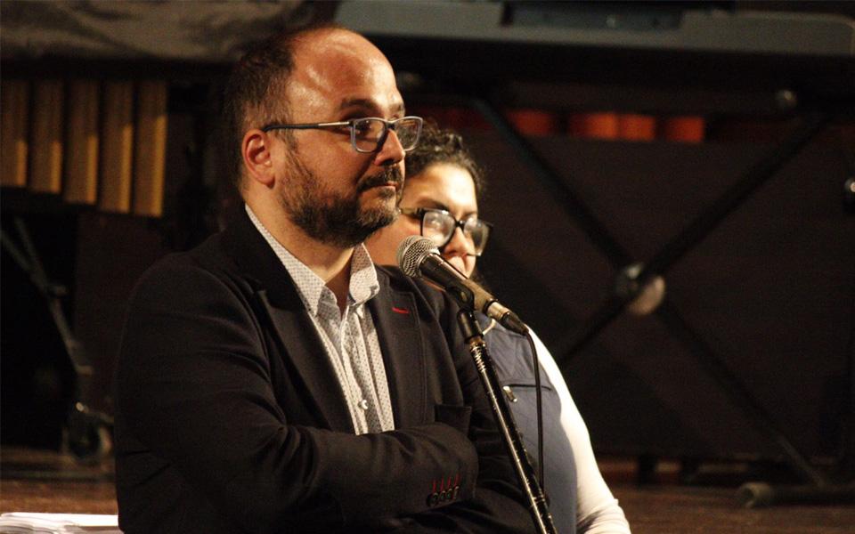 José Antonio Valbuena, consejero de Medio Ambiente del Cabildo de Tenerife.