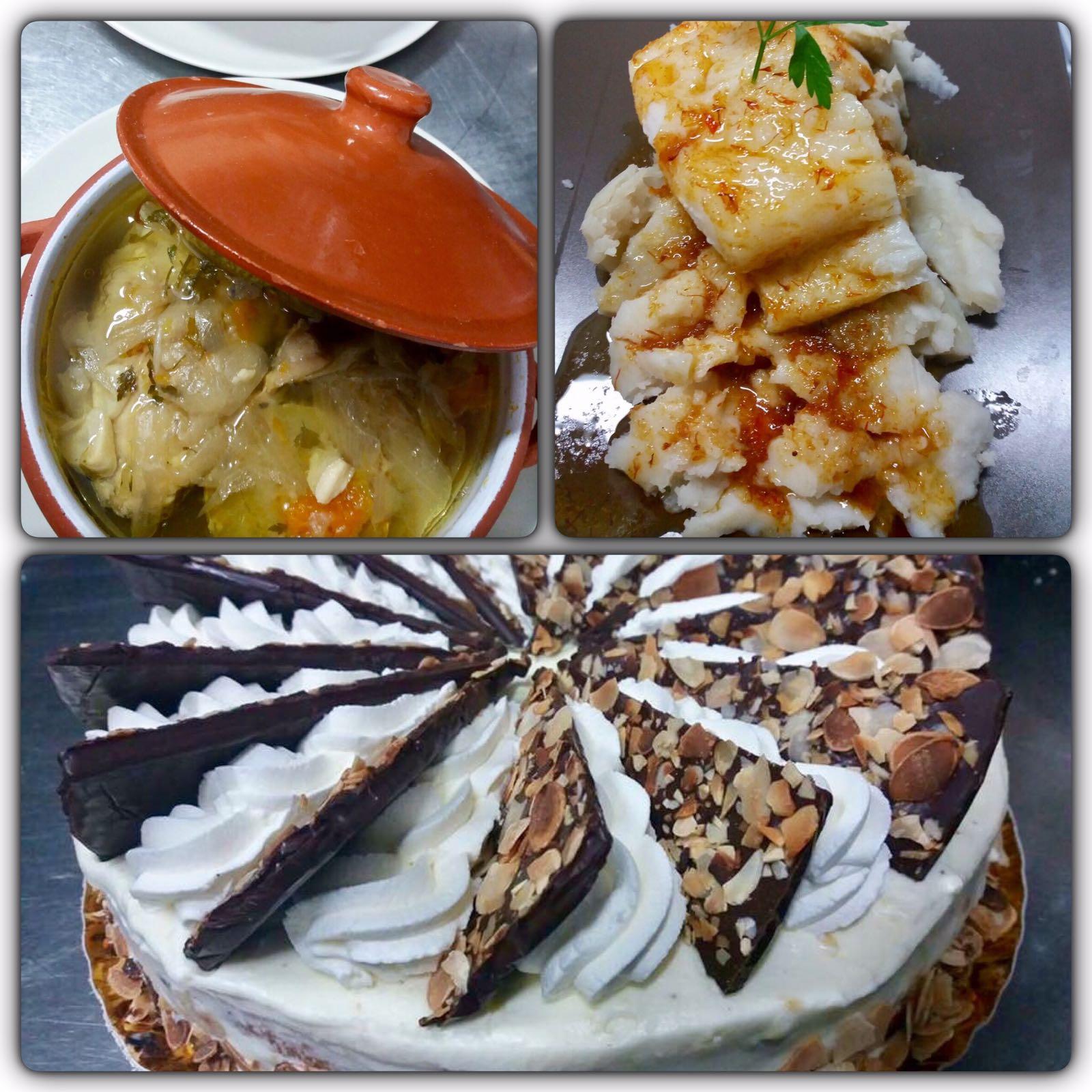 Para esta Semana Santa disfruta de la cazuela de cherne y del bacalao con azafrán y batata