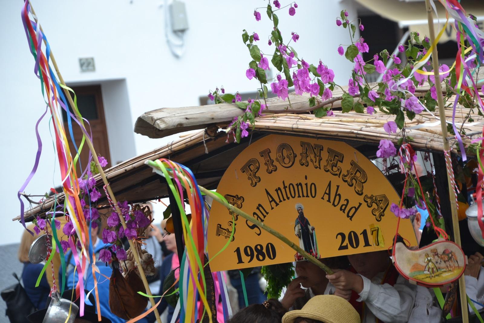 'La pionera' es uno de los carritos que lleva más ediciones en San Antonio Abad