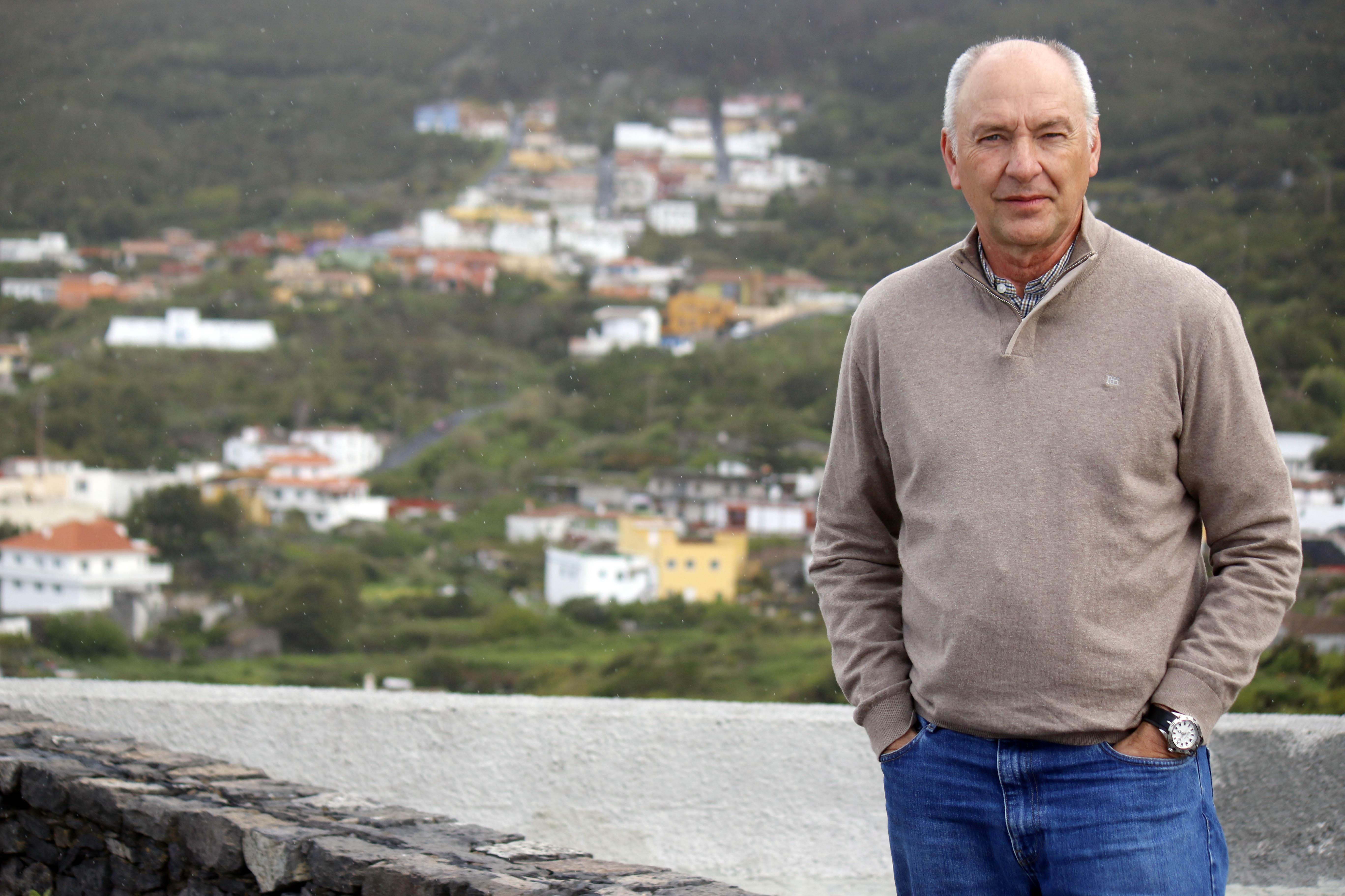 Pablo Estévez, líder de la oposición de Nueva Canarias en El Tanque