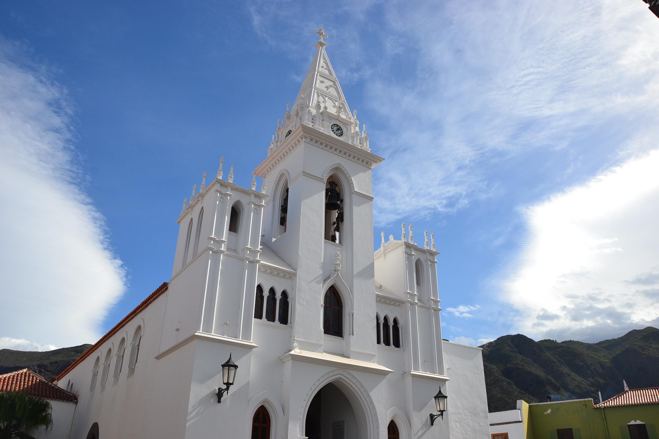 Iglesia de la virgen de La Luz