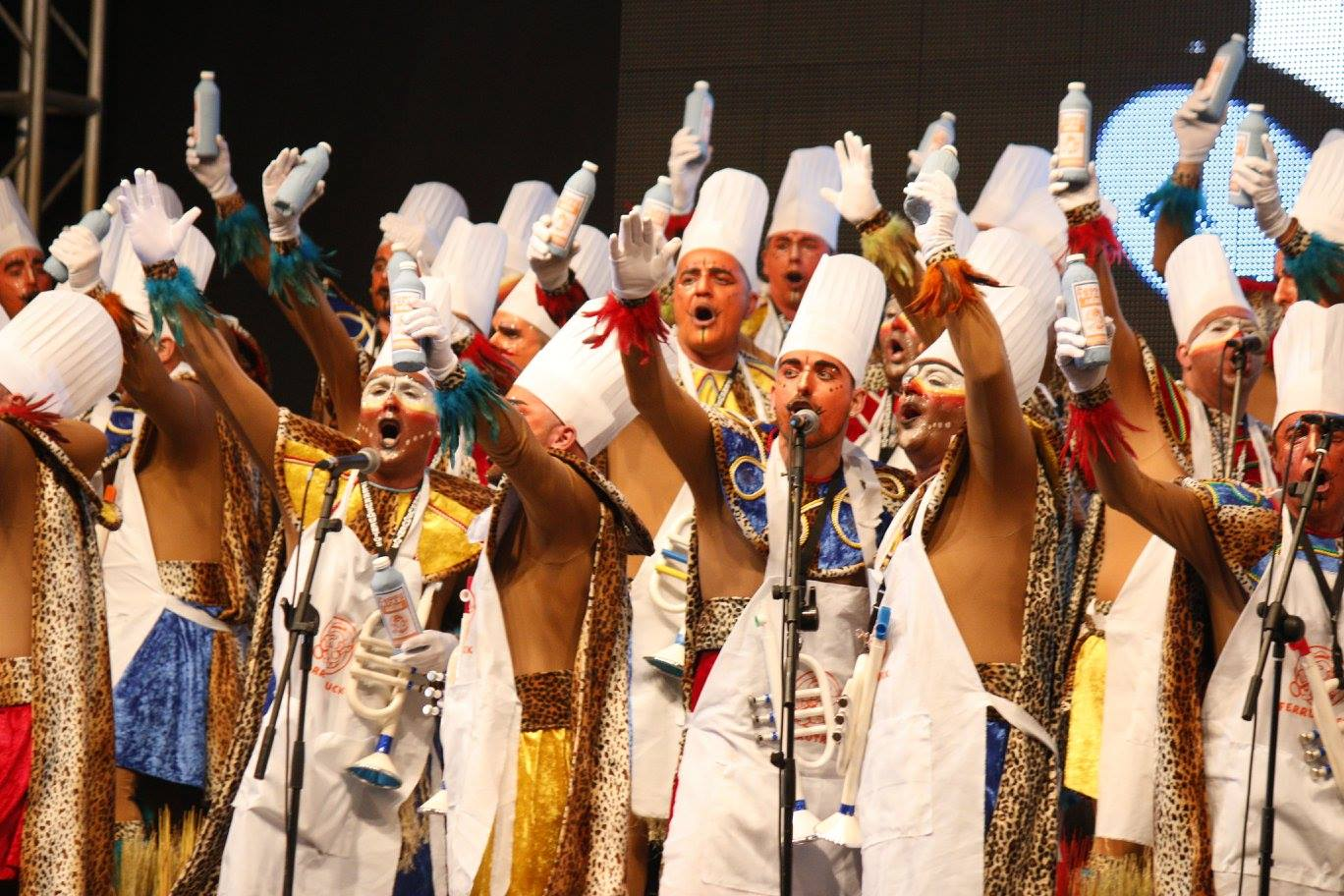 Ferrusquentos cantó a la Ley Mordaza de Rajoy en 2016