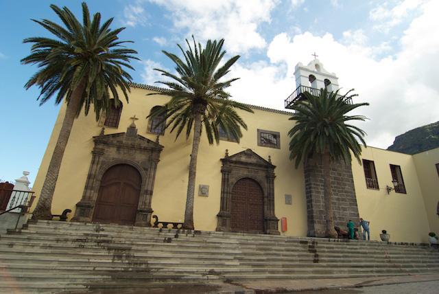 iglesia los ángeles convento San Francisco garachico